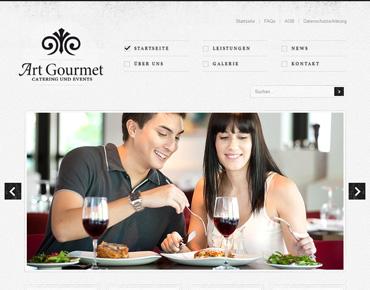 Art Gourmet Webseite