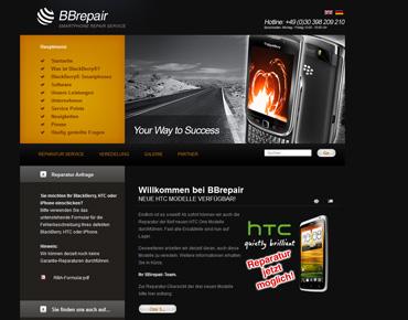 BBrepair Webseite