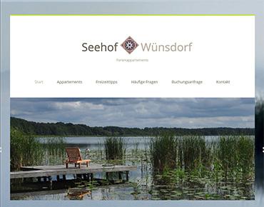Webseite-Erstellung Seehof Wünsdorf
